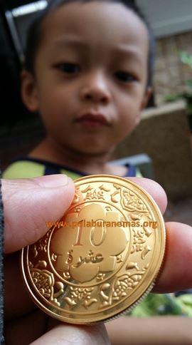 Contoh 10 dinar mesra Ar-rahnu