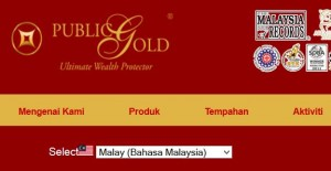 Pelaburan Emas Public Gold
