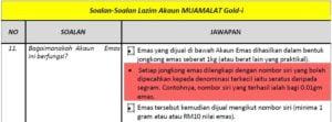 Akaun Muamalat Gold-i FAQ11