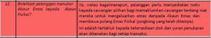 Pelaburan emas Akaun Muamalat Gold-i FAQ12