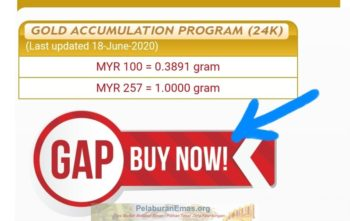 BUY NOW akaun GAP Public Gold