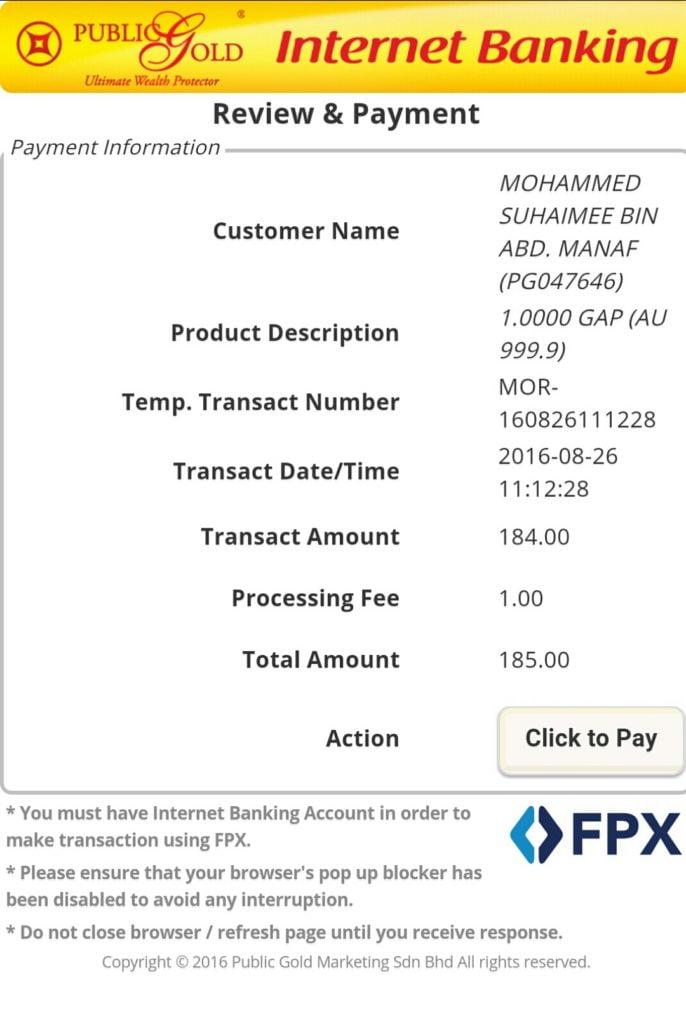 Bayaran cara FPX