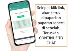 Cara buka akaun GAP Public Gold di Whatsapp.