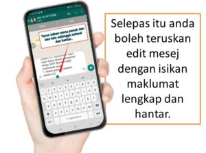 Cara buka akaun GAP Public Gold dengan isi maklumat di Whatsapp.