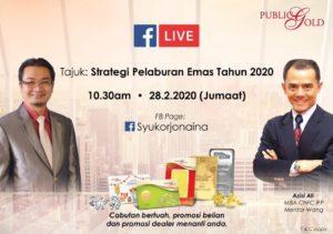 FBLive Syukor Hashim dan Azizi Ali jam 10:30am 28/2/2020