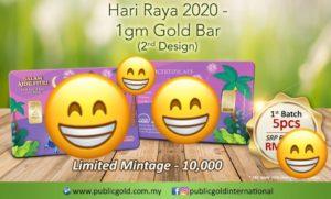 Goldbar Raya 1441H Edisi 2 Public Gold.