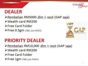 Promosi Dealer Public Gold Akaun GAP hingga 10022020