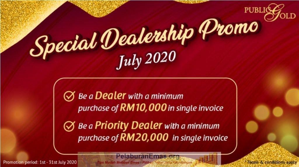 Promosi Dealer Public Gold Julai 2020