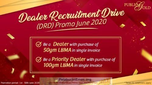 Promosi Dealer Public Gold Bulan Jun 2020.