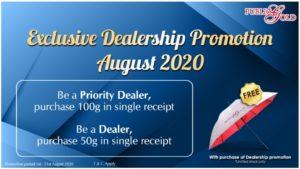 Promosi Dealer Public Gold Ogos 2020
