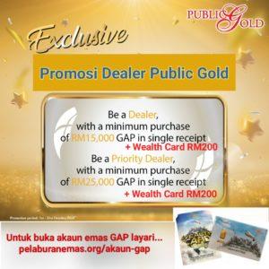 Promosi Dealer Public Gold Oktober 2020