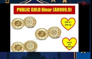 Promosi Dinar Public Gold EPP10 Tanpa Caj Premium 18-05-2020