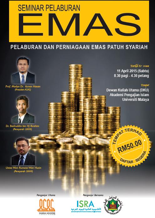 Seminar Pelaburan Emas 2015